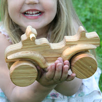 Lotes Toys Wooden Quadracycle (MB25)