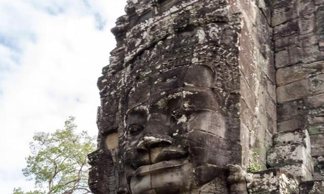 Angkor Thom Bayon Siem Reap Cambodia Temple