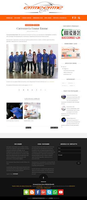 Nuovo sito www.emmeemmecar.it
