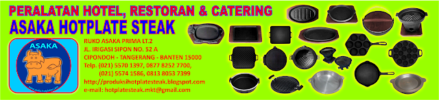 hot plate steak, hotplate murah, piring sapi, piring sapi baja, piring steak, Hotplate Steak Oval