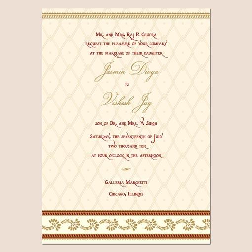 Wedding Invitation Card Format India Popular Wedding Invitation 2017 – Indian Wedding Invitation Card