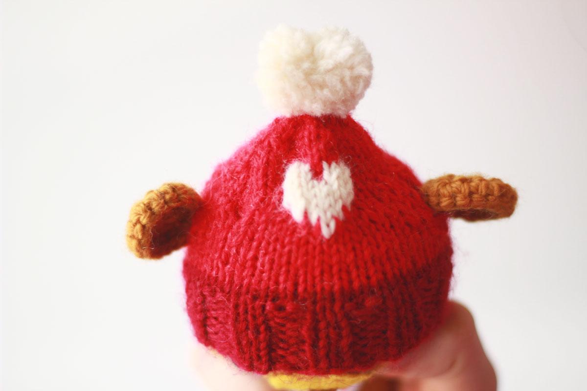 Amigurumi love bear: Personalized valentine's day gift