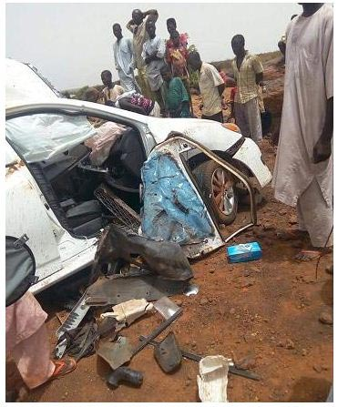 Graphic photos: Man dies in road accident days before his wedding