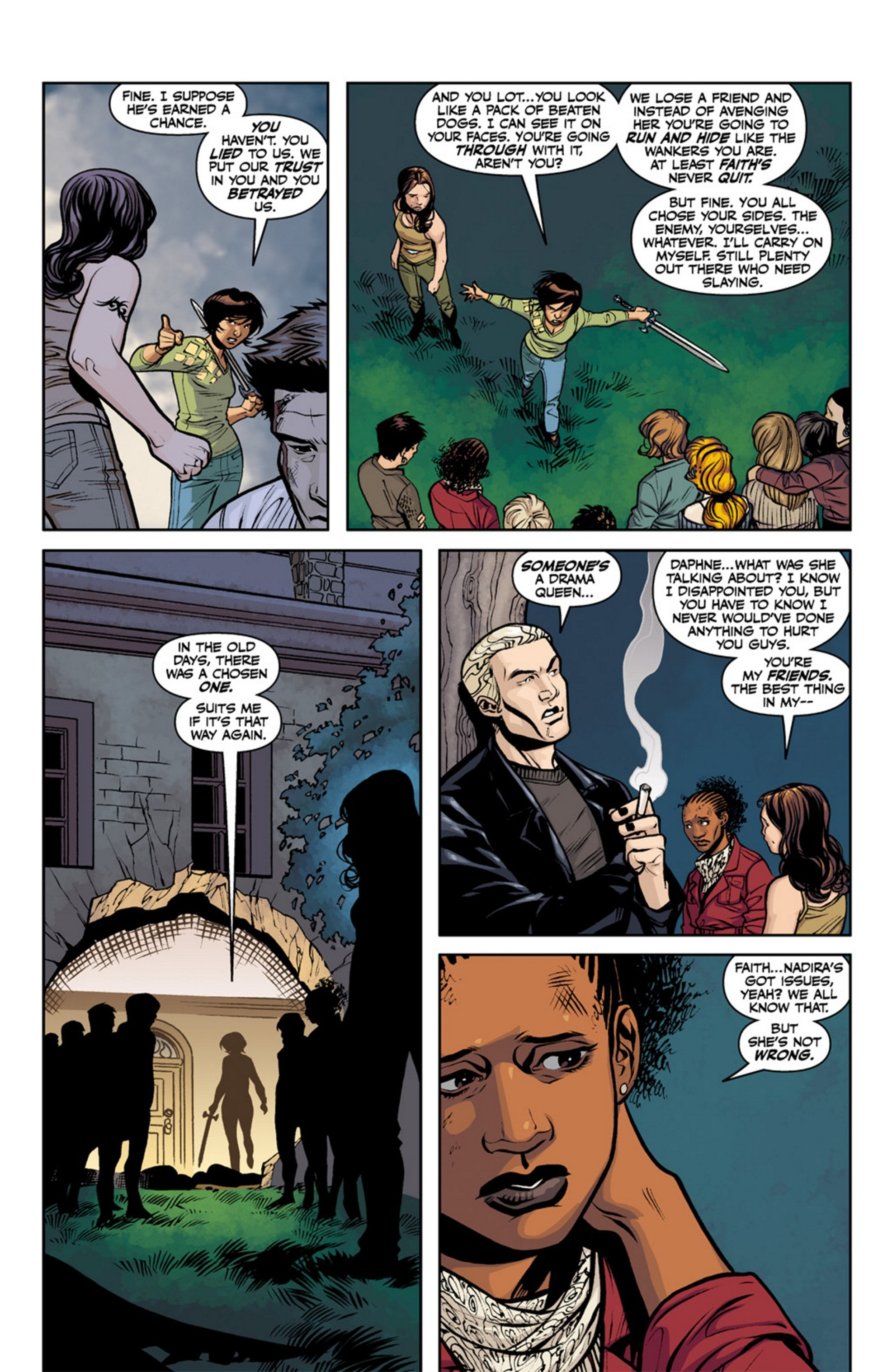 Read online Angel and Faith comic -  Issue #19 - 24