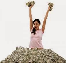 Pengusaha sukses bisa akrab dengan uang
