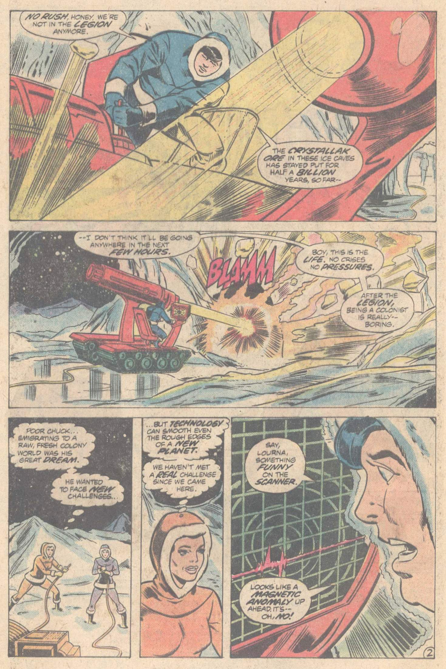 Legion of Super-Heroes (1980) 266 Page 3