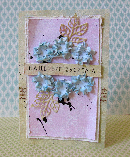 #064 Pastelowa karteczka