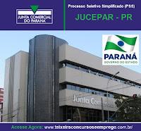 Apostila Concurso JUCEPAR Paraná-PR 2016.