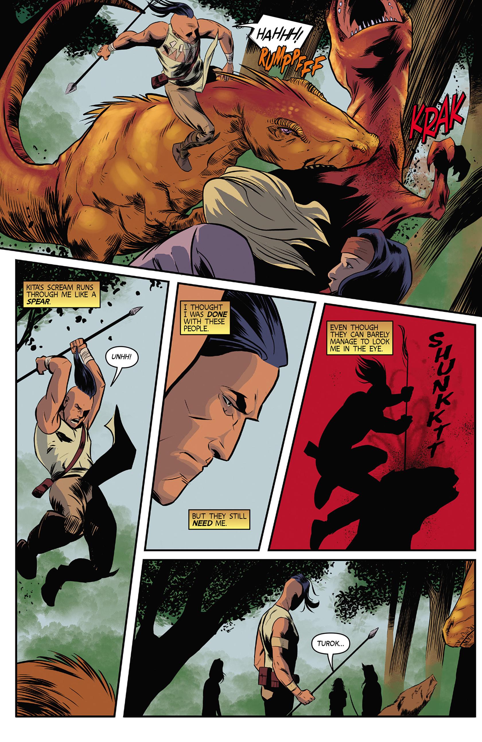 Read online Turok: Dinosaur Hunter (2014) comic -  Issue #9 - 6