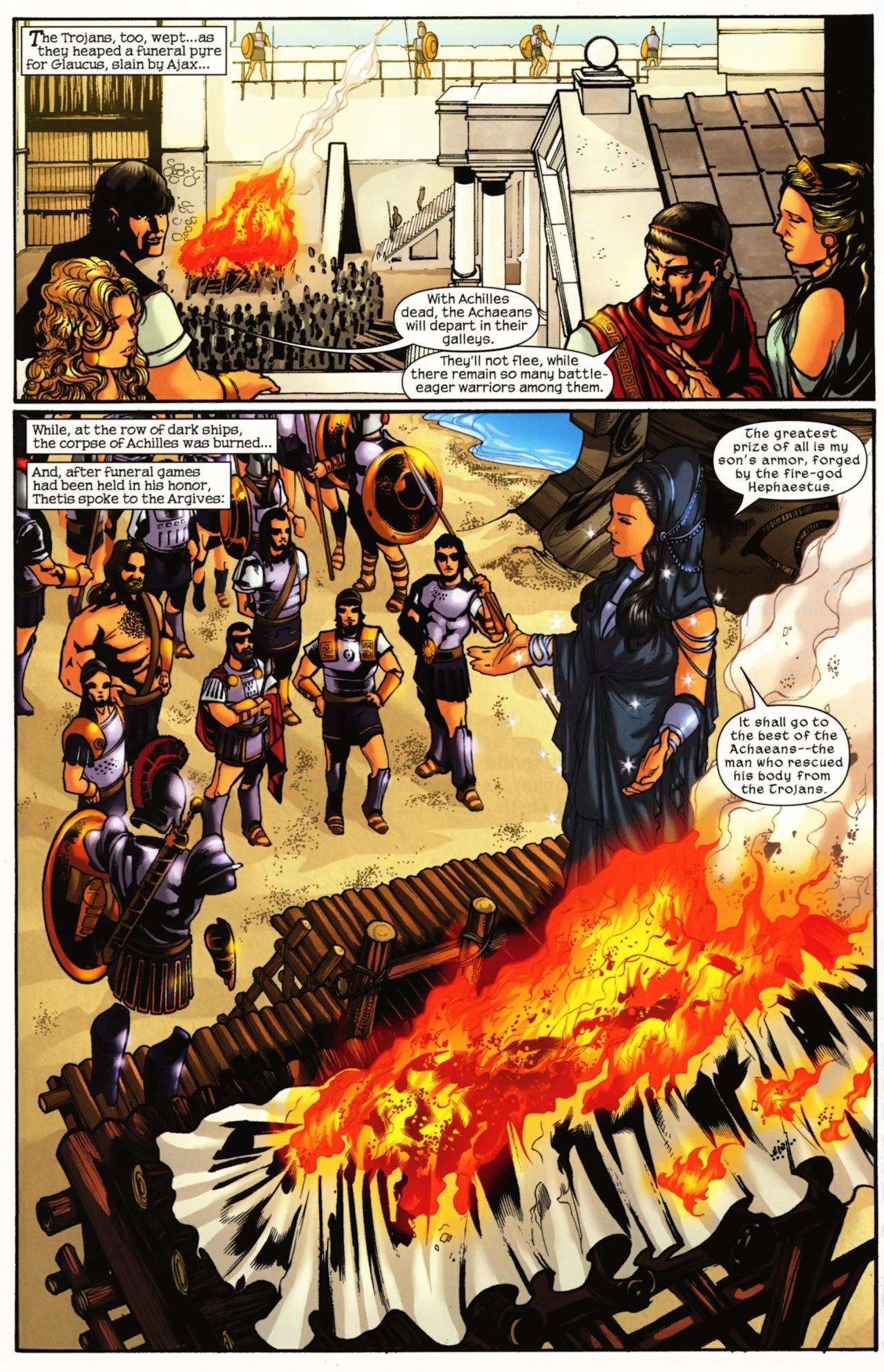 Read online Trojan War comic -  Issue #4 - 4
