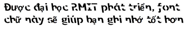 Font chữ - in Hồng Hạc