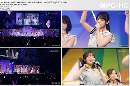 Nogizaka46 - Mezamashi Live 190420 (Fuji TV)