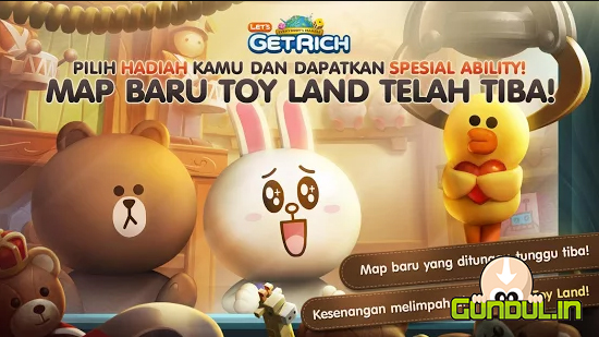 Gundul.in | Download LINE Let's Get Rich APK MOD v 1.8.1 Terbaru
