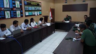 Kodim 1011/Klk Dapatkan Hibah  Bangunan Dari Kabupaten Kapuas