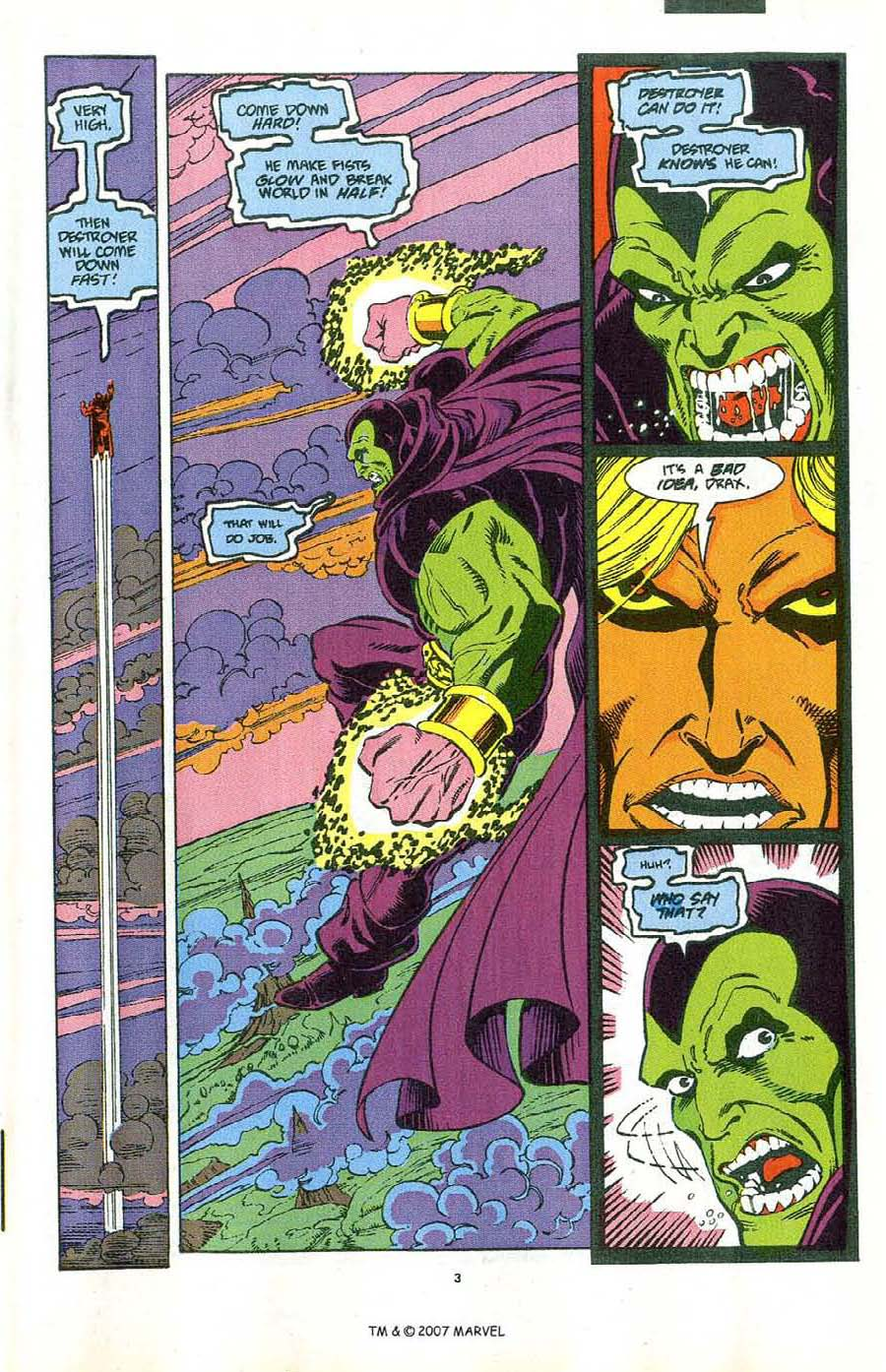 Read online Silver Surfer (1987) comic -  Issue #47 - 5