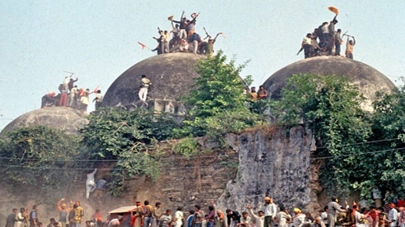 Babri Masjid in the name of Ram was demolished in self-claimed secular India by Hindu extremists in 1992