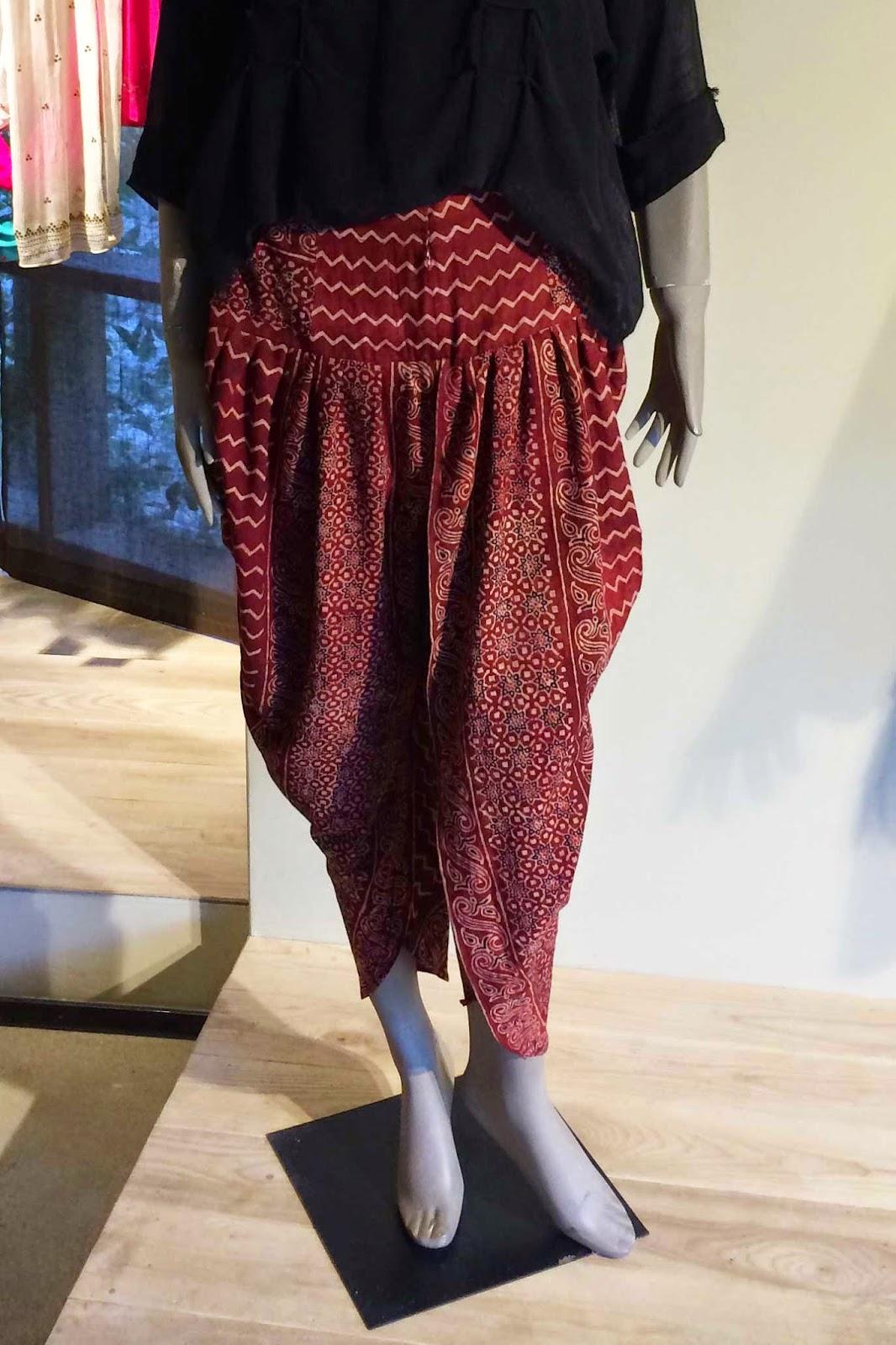 Sonya Battla harem pants - Pakistani designer wear