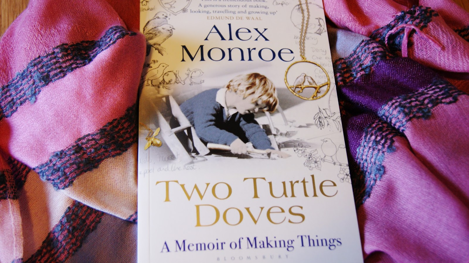 Alex Monroe Two Turtle Doves Book