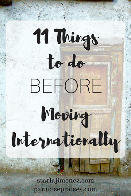 11 things to do before moving internationally. Black Bedroom Furniture Sets. Home Design Ideas