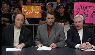 WCW Souled Out 2000 - Mike Tenay, Tony Schavione, Bobby 'The Brain' Heenan