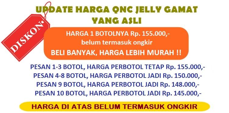 Harga QnC Jelly Gamat Terbaru