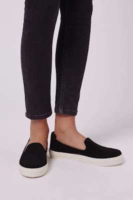 TEMP Slip-on sneakers, $32 from Topshop