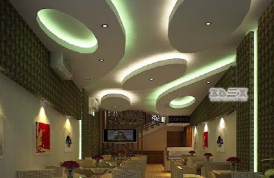 POP false ceiling designs 2019 for living room hall with LED indirect lighting ideas