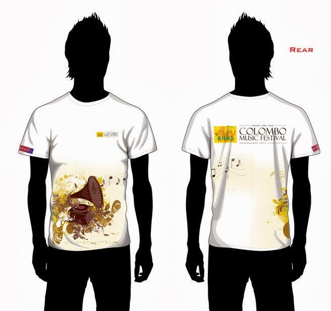 Devaka perera colombo music festival 2012 t shirt designs for T shirt design festival