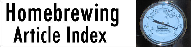 Homebrewing Article Index