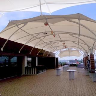 tenda membrane depok untuk bangunan cafe, restoran, parkiran, dan lain lain
