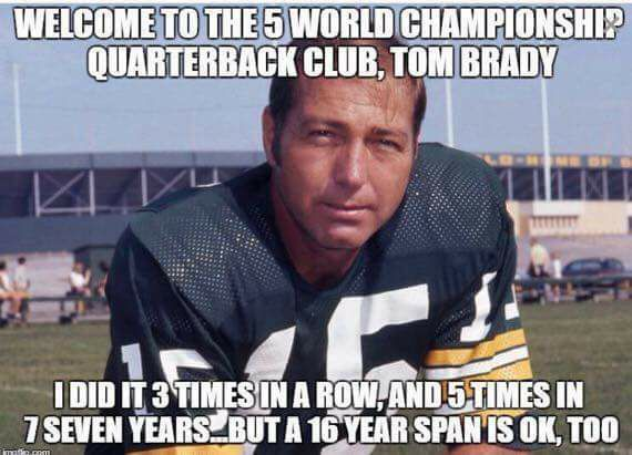 #Packers #BartStarr #nfl.-welcome to the 5 world #championship #quarterback club, #tombrady.