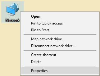 Các cách để mở network connections trong Windows