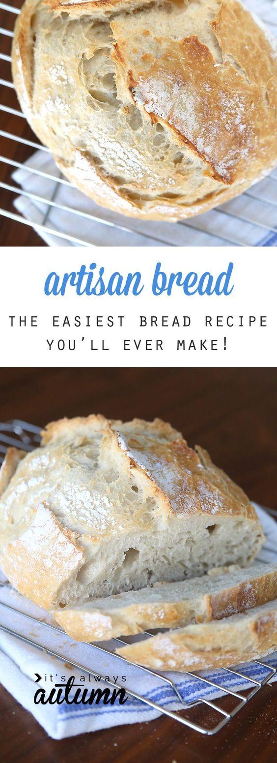 Crazy Easy Artisan Bread!