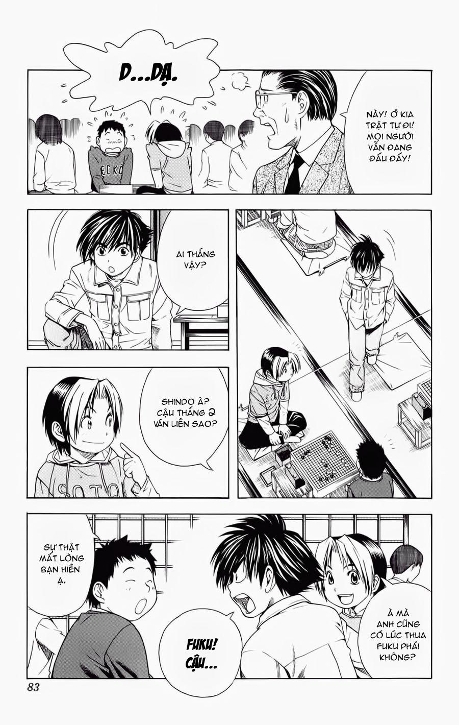 Hikaru No Go hikaru no go chap 55 trang 15