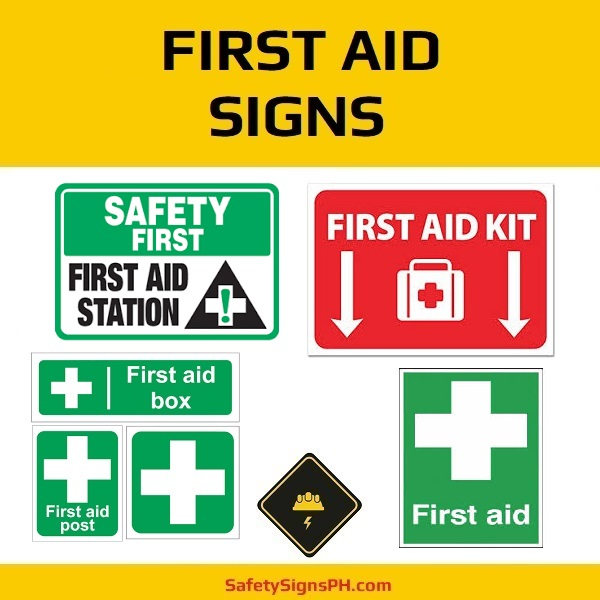 First Aid Signs Philippines