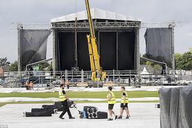 Ariana Grande returns to UK ahead of Sunday's benefit concert
