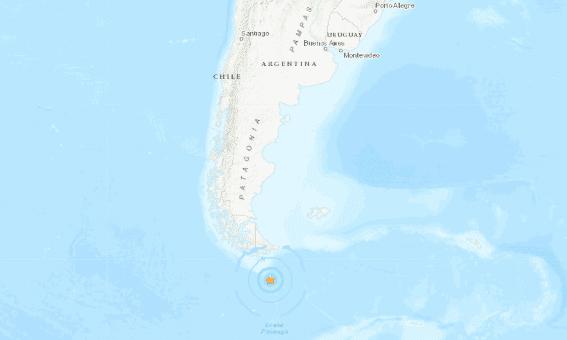 Sismo de 6.3 sacude el sur de Argentina