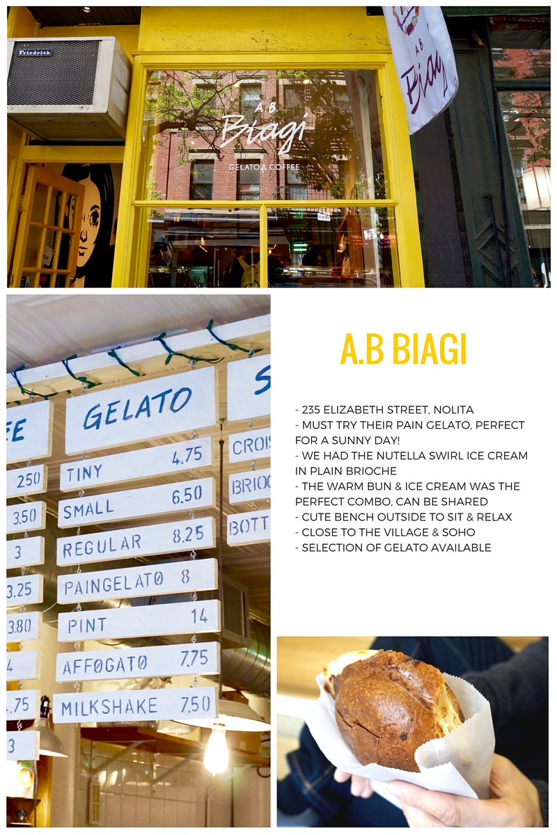 AB Biagi new york soho