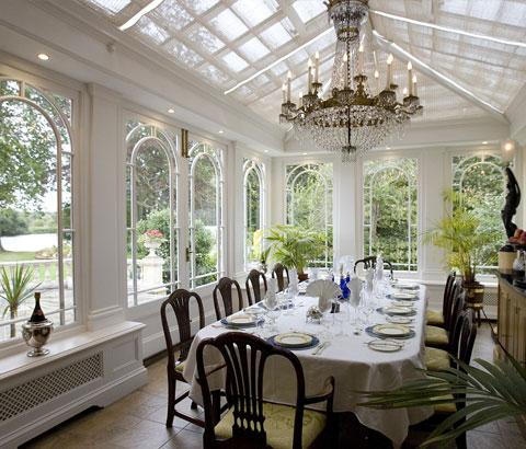 Hydrangea Hill Cottage Conservatory Living