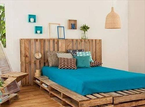 DECORACION DORMITORIOS : Camas Baratas o Low Cost