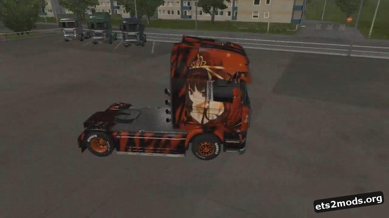 Halloween Anime Skin for Scania Streamline