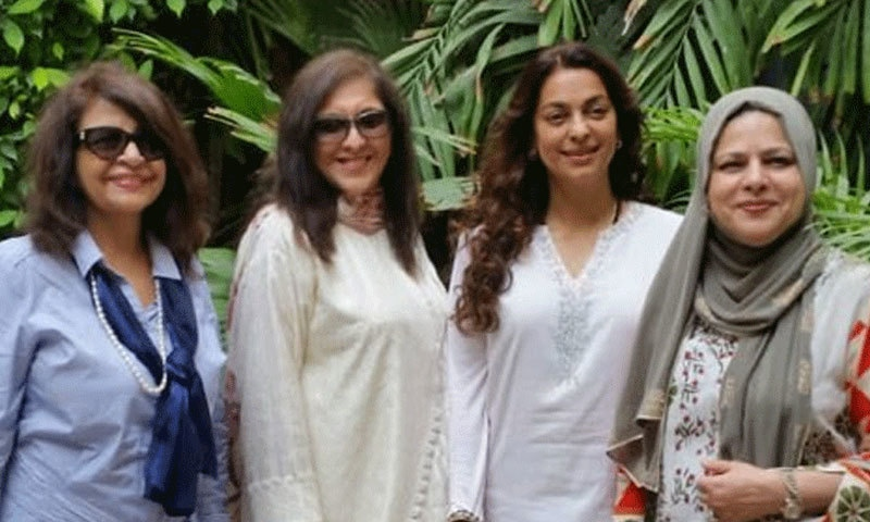Juhi Chawla departs for Dubai after short visit to Pakistan