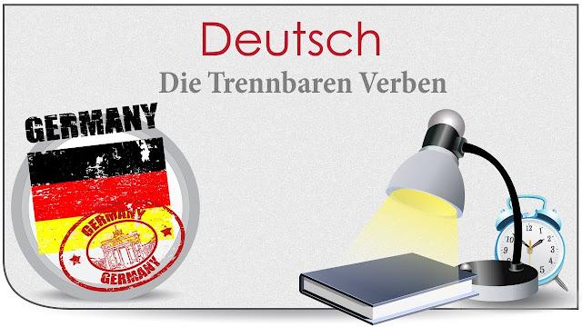 كتاب تمارين مكثفة على الافعال المنفصلة test mit trennbaren