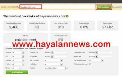 Cara mencuri informasi backlink berkualitas dari situs blog terkenal