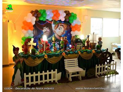 Decoração infantil Peter Pan - aniversário