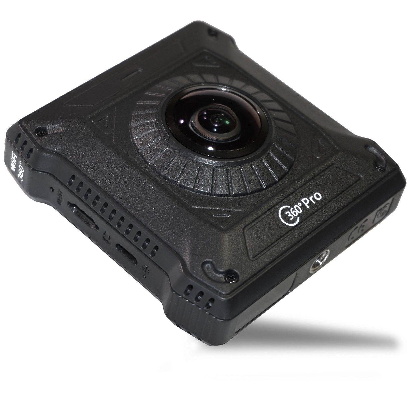 360 pro is a slim low cost fully spherical 360 camera - Low cost camera ...