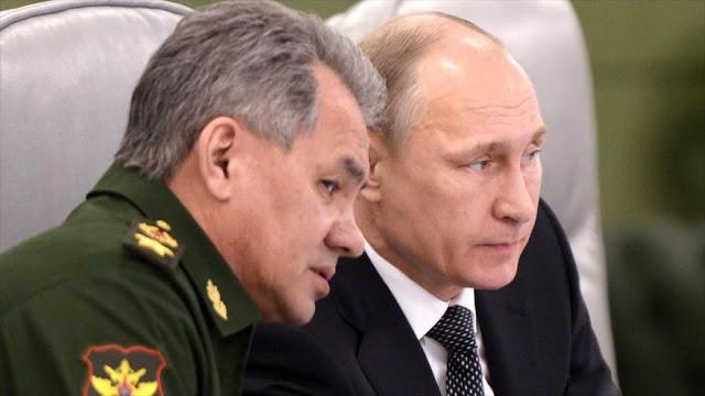 Ejército ruso pide a Putin reanudar ataques a terroristas en Alepo
