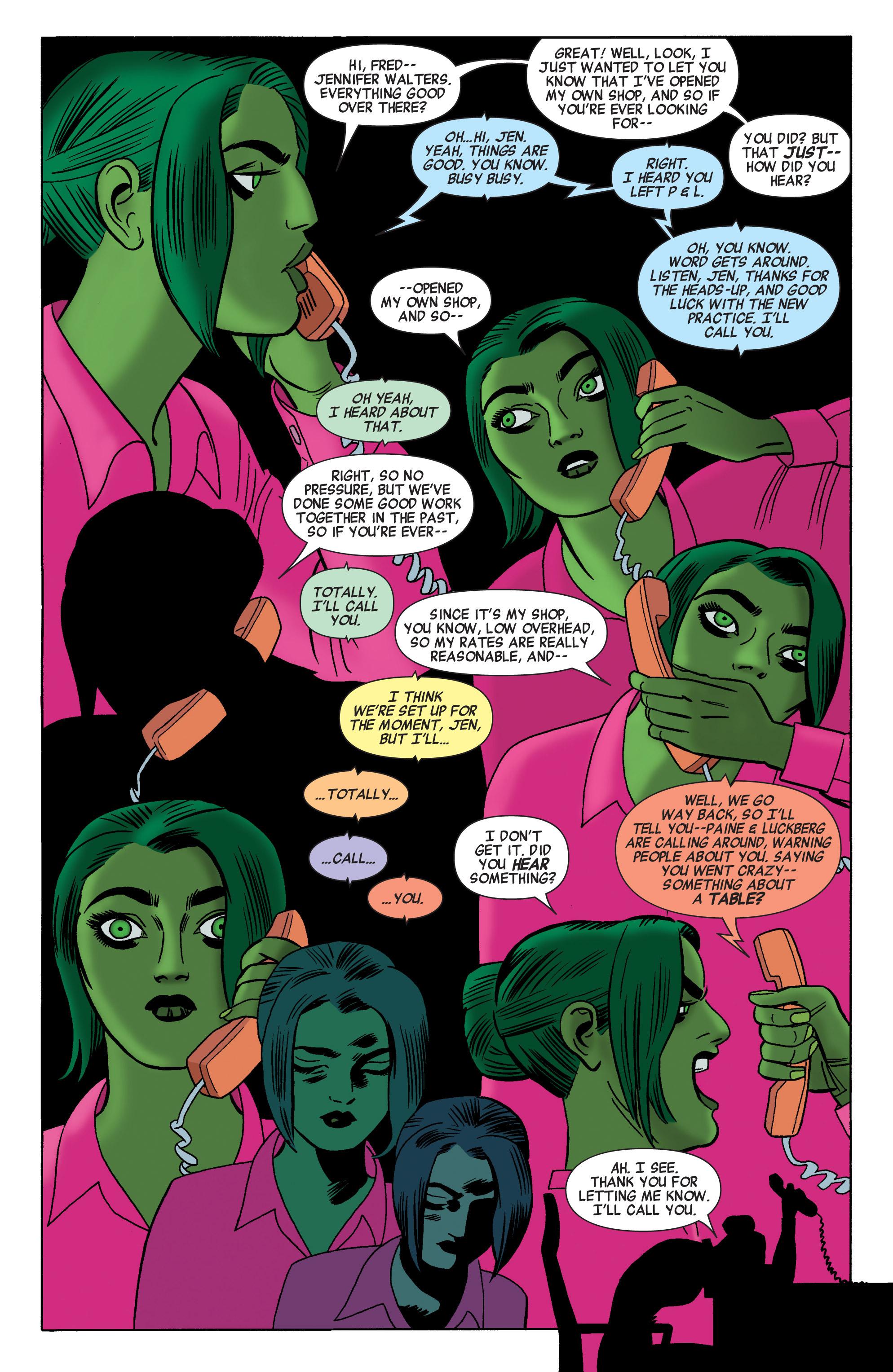 Read online She-Hulk (2014) comic -  Issue #2 - 9