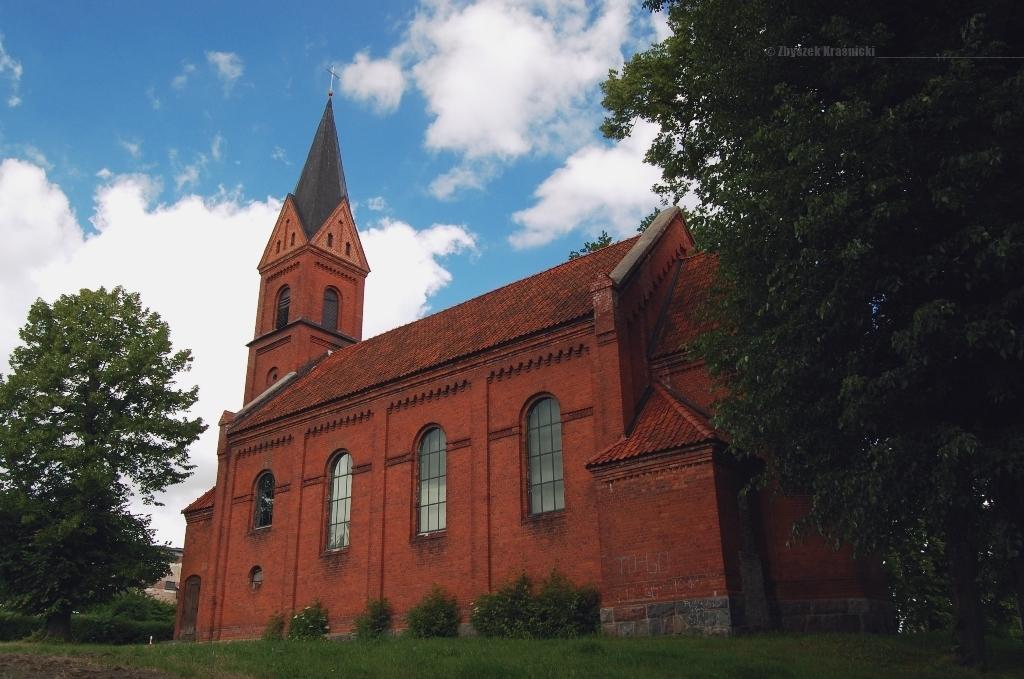 Kościół ewangelicki w Bisztynku