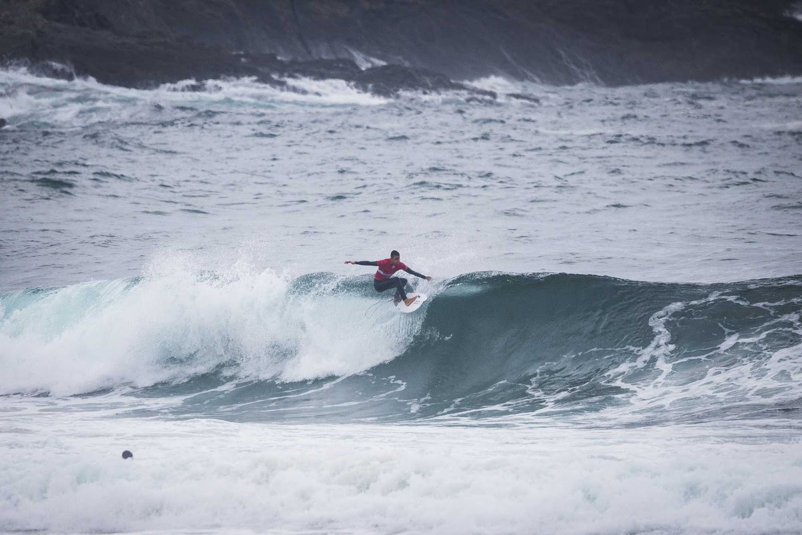 Pull Bear Pantin Classic Galicia Pro 2018 Highlights Pumping Surf for Opening Day of Men s QS